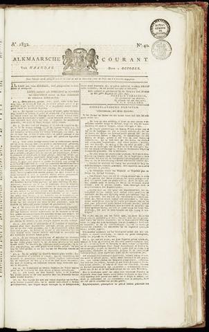 Alkmaarsche Courant 1832-10-01