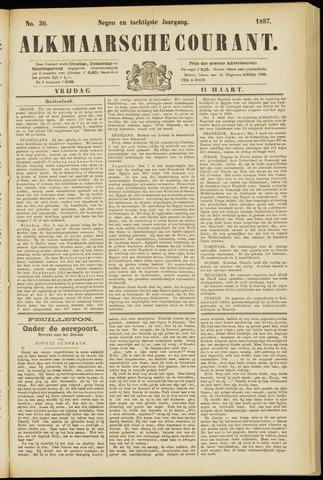 Alkmaarsche Courant 1887-03-11