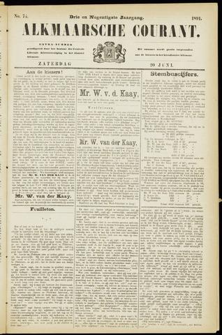 Alkmaarsche Courant 1891-06-20