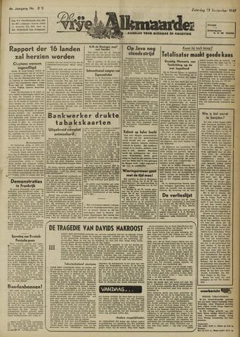 De Vrije Alkmaarder 1947-09-13