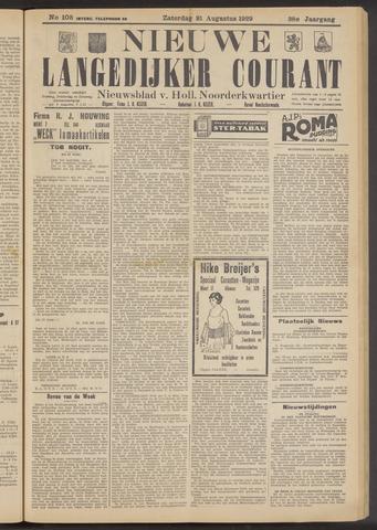 Nieuwe Langedijker Courant 1929-08-31