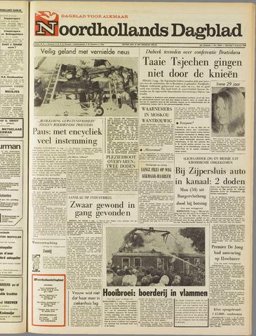 Noordhollands Dagblad : dagblad voor Alkmaar en omgeving 1968-08-05