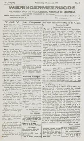 Wieringermeerbode 1945-01-10