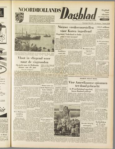 Noordhollands Dagblad : dagblad voor Alkmaar en omgeving 1953-05-27