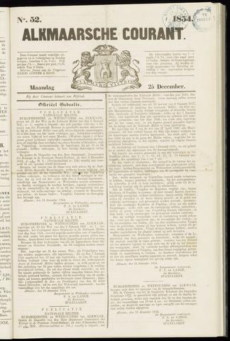 Alkmaarsche Courant 1854-12-25