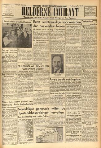 Heldersche Courant 1952-10-17