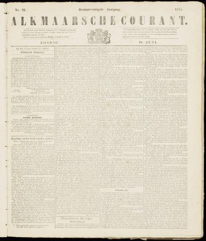 Alkmaarsche Courant 1874-06-14