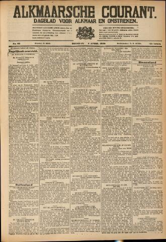 Alkmaarsche Courant 1930-04-08