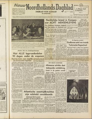 Nieuw Noordhollandsch Dagblad : voor Alkmaar en omgeving 1952-04-11