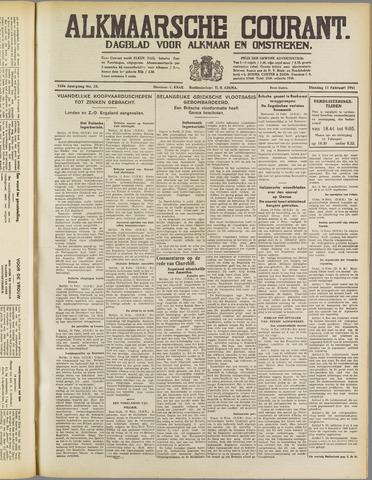 Alkmaarsche Courant 1941-02-11