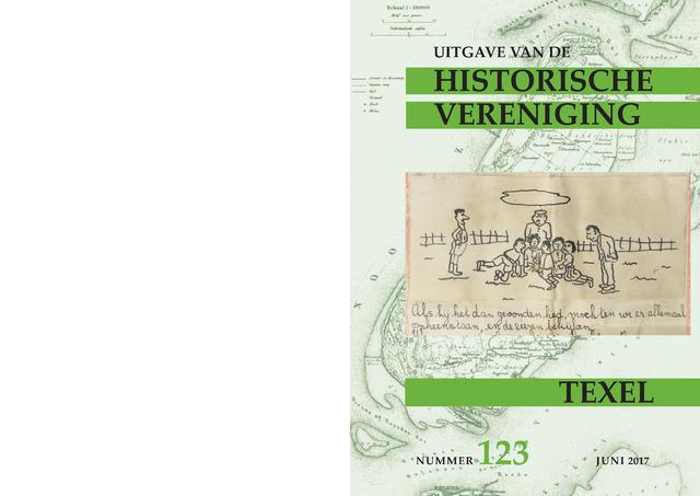Uitgave Historische Vereniging Texel 2017-06-01