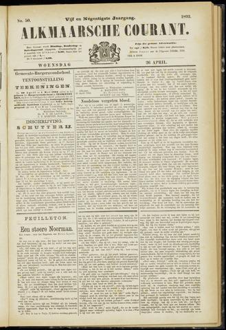 Alkmaarsche Courant 1893-04-26