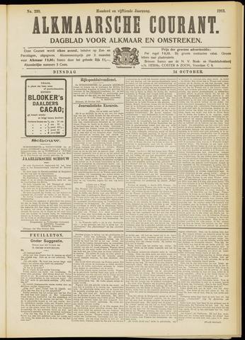Alkmaarsche Courant 1913-10-14