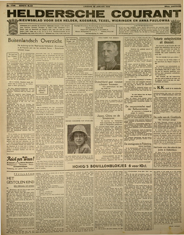 Heldersche Courant 1936-01-28