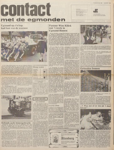 Contact met de Egmonden 1980-08-06