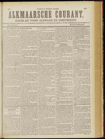 Alkmaarsche Courant 1918-09-30