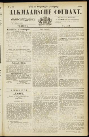 Alkmaarsche Courant 1892-06-03