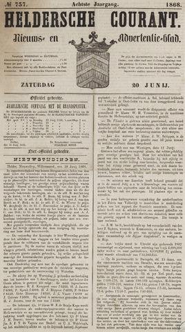 Heldersche Courant 1868-06-20