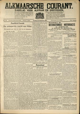 Alkmaarsche Courant 1934-08-24