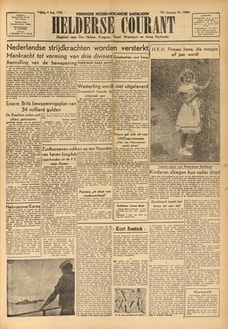 Heldersche Courant 1950-08-04