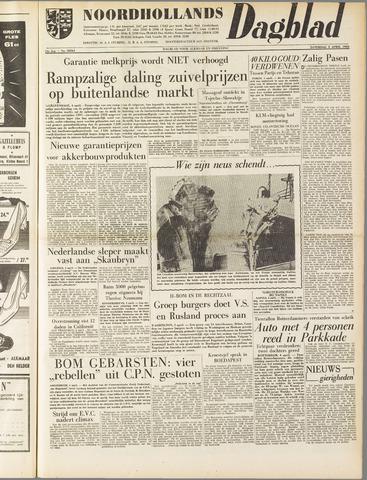 Noordhollands Dagblad : dagblad voor Alkmaar en omgeving 1958-04-05
