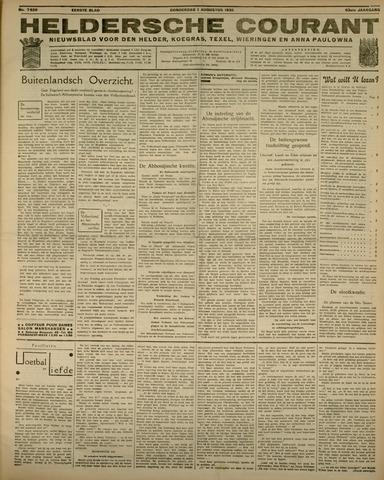 Heldersche Courant 1935-08-01