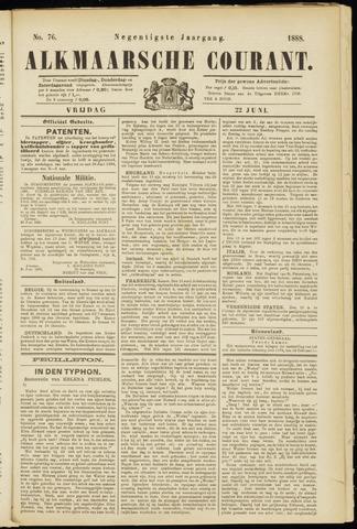 Alkmaarsche Courant 1888-06-22