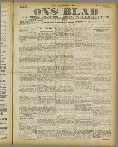 Ons Blad : katholiek nieuwsblad voor N-H 1919-07-18