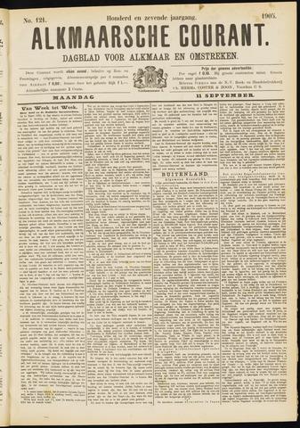 Alkmaarsche Courant 1905-09-11