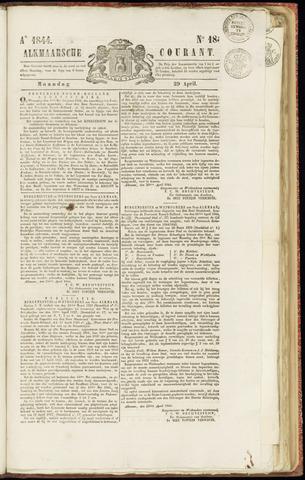 Alkmaarsche Courant 1844-04-29