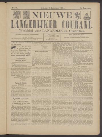 Nieuwe Langedijker Courant 1894-12-02