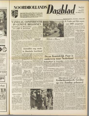 Noordhollands Dagblad : dagblad voor Alkmaar en omgeving 1954-04-26