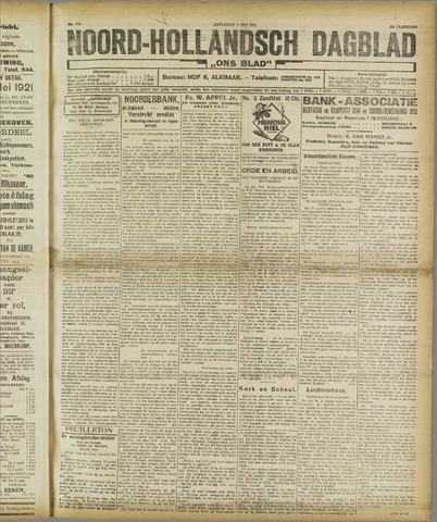 Ons Blad : katholiek nieuwsblad voor N-H 1921-05-07