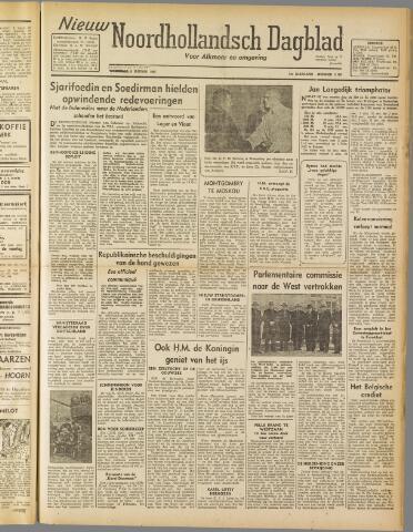 Nieuw Noordhollandsch Dagblad : voor Alkmaar en omgeving 1947-01-09