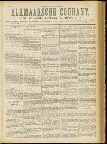 Alkmaarsche Courant 1918-07-29