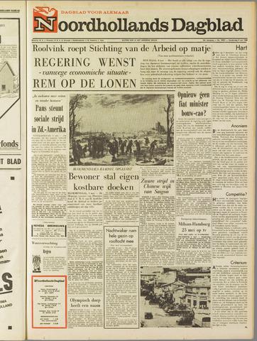 Noordhollands Dagblad : dagblad voor Alkmaar en omgeving 1968-05-09