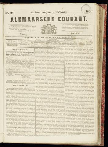 Alkmaarsche Courant 1861-09-15