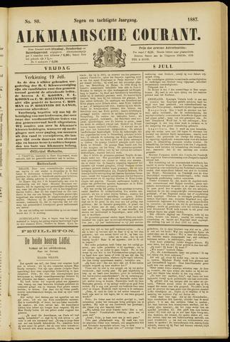 Alkmaarsche Courant 1887-07-08