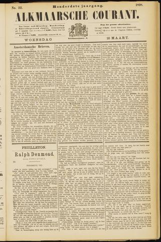 Alkmaarsche Courant 1898-03-16