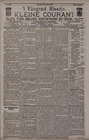 Vliegend blaadje : nieuws- en advertentiebode voor Den Helder 1895-10-23