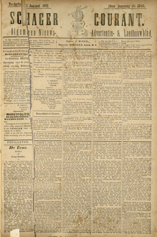 Schager Courant 1895