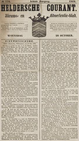 Heldersche Courant 1868-10-28
