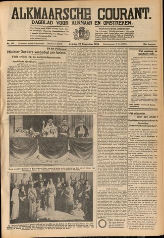 Alkmaarsche Courant 1934-11-30