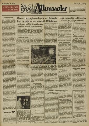 De Vrije Alkmaarder 1948-06-12