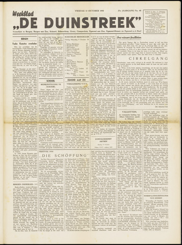De Duinstreek 1950-10-13