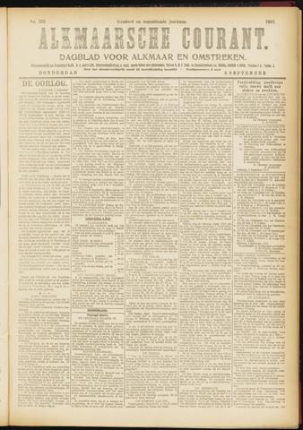 Alkmaarsche Courant 1917-09-06