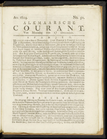 Alkmaarsche Courant 1804-12-17