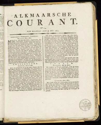 Alkmaarsche Courant 1815-05-29