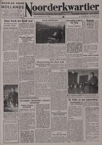 Dagblad voor Hollands Noorderkwartier 1942-03-25