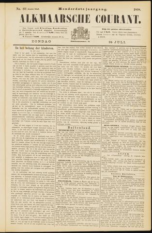 Alkmaarsche Courant 1898-07-24